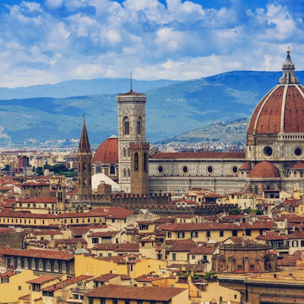 Florence, Italy – view of the city