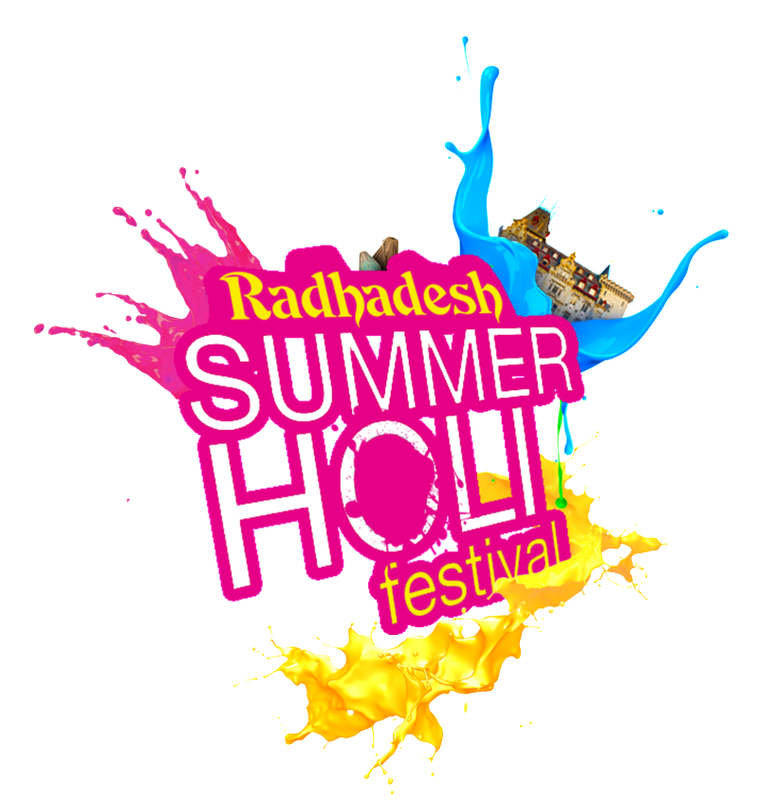 ANNUAL MEGA TRIP: Summer Holi Festival at Radhadesh 27 July